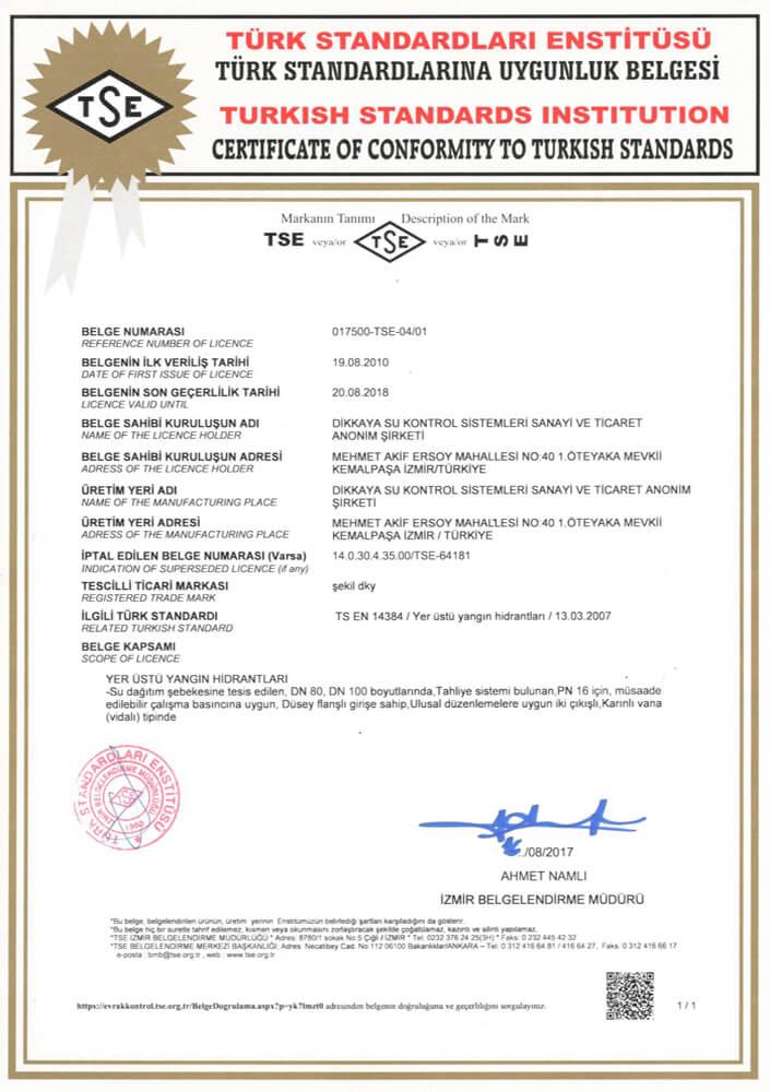 CERT-TS-EN-14384-Yerustu-yangin-Hidranti