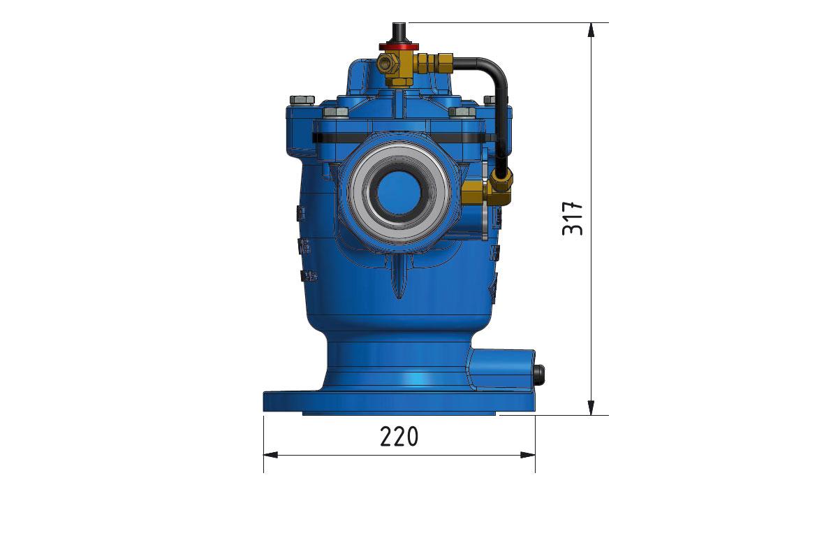 HSH I Tarimsal Sulama Hidranti Hydraulic Irrigation Hydrant Ultrasonic Ultrasonik 3d2 DKY