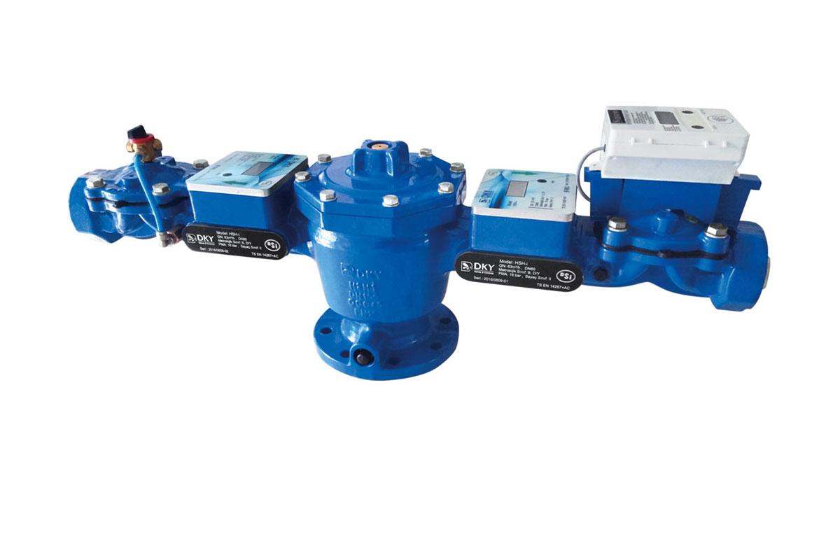 HSH I Tarimsal Sulama Hidranti Hydraulic Irrigation Hydrant Ultrasonic Ultrasonik DKY