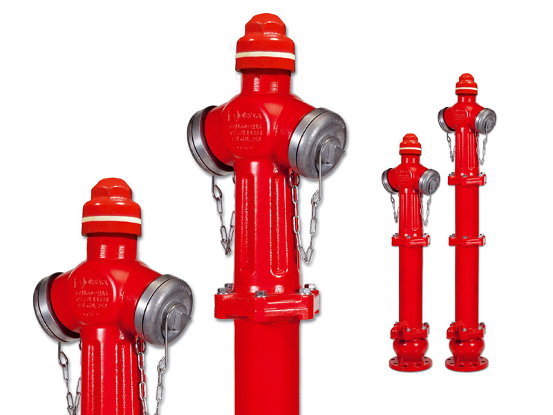 Yerustu Yangin Hidranti Overground Fire Hydrant